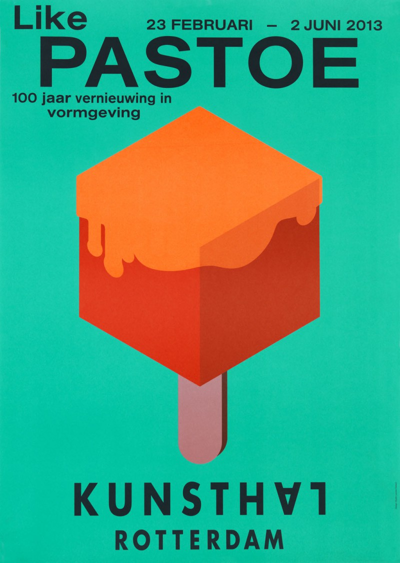 Poster design exhibition - Pastoe Identity On The Occasion Of The Exhibition Like Pastoe 100 Years Of Design Innovation At Kunsthal Rotterdam